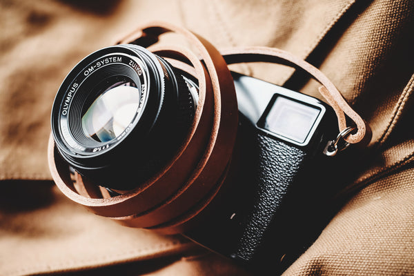 Camera Straps in Leather