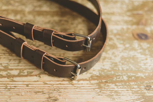 Leather Camera Strap Custom Made