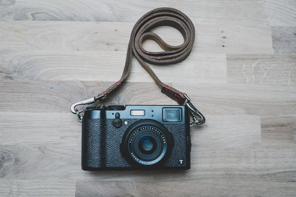 Horween Leather Camera Straps | 595strapco