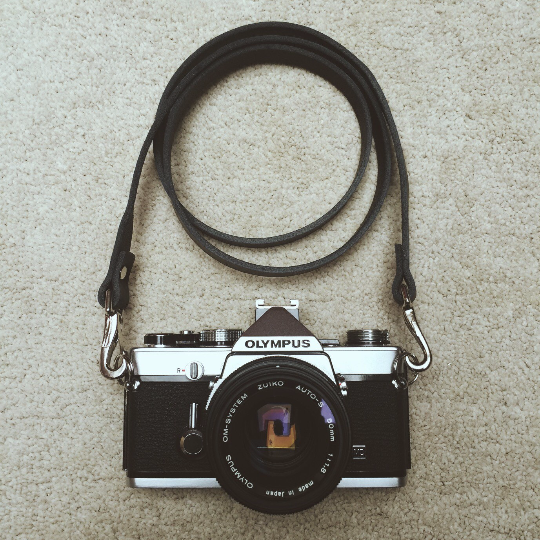 Quick Release Leather Camera Neck Straps | 595strapco - 5