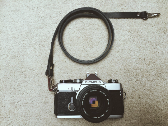 Quick Release Leather Camera Neck Straps | 595strapco - 2