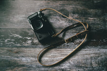 Load image into Gallery viewer, ADJUSTABLE - Leather Camera Strap