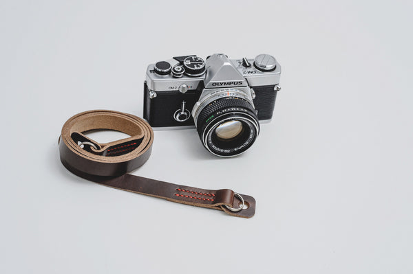 The Mocal Leather Camera Neck Strap