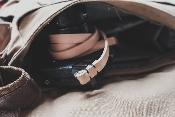 Rivet Free Leather Camera Neck Straps | 595strapco - 2