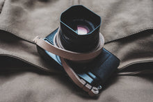 Load image into Gallery viewer, Rivet Free Leather Camera Neck Straps | 595strapco - 1