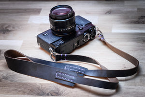 KOTU - Wide Leather Camera Strap