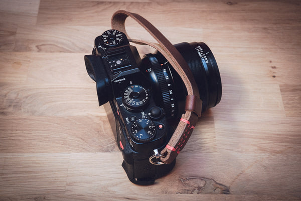 ODYSSEY Leather Wrist Strap