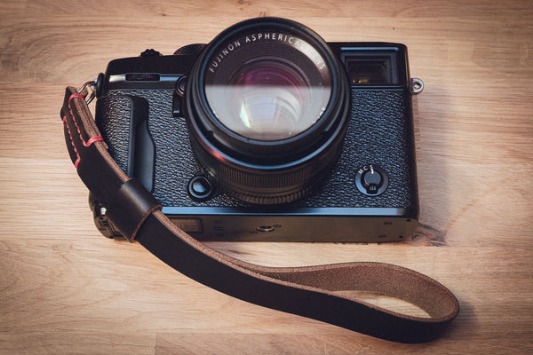 The Odyssey Leather Camera Wrist Strap