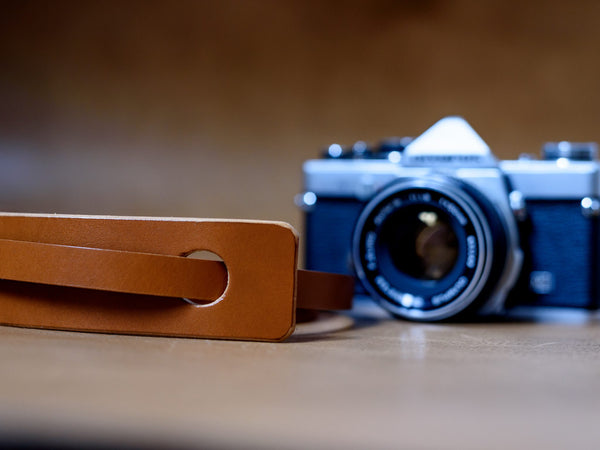 Classic Leather Camera Neck Strap Pads