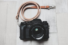 Load image into Gallery viewer, Quick Release Leather Camera Neck Straps | 595strapco - 1