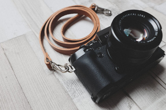 Quick Release Leather Camera Neck Straps | 595strapco - 3