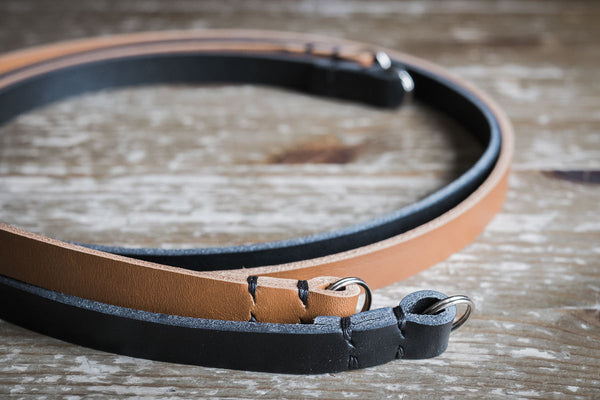 Rivet Free Leather Camera Neck Straps | 595strapco - 5