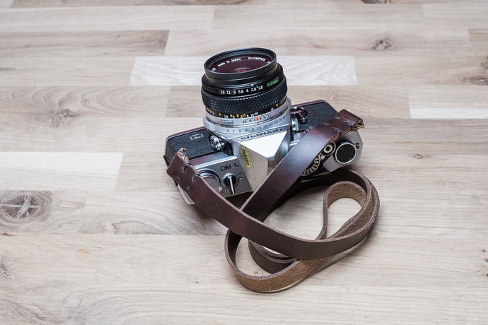 STERLING - Leather Camera Strap