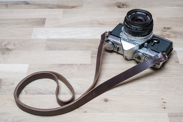 Sterling Leather Camera Strap