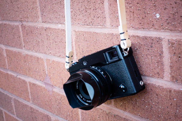 Rivet Free Leather Camera Neck Straps | 595strapco - 4