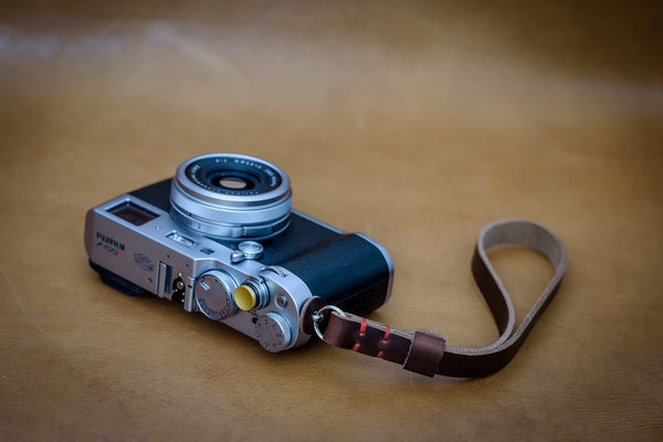 Nebula Leather Camera Wrist Strap