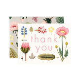 Spring Botany Thank You Card