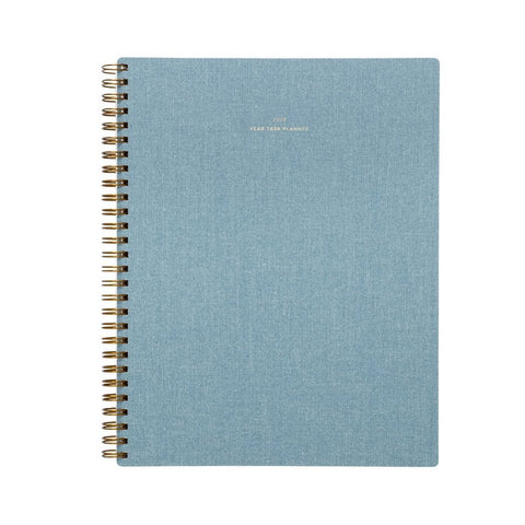 2019 Chambray Year Task Planner