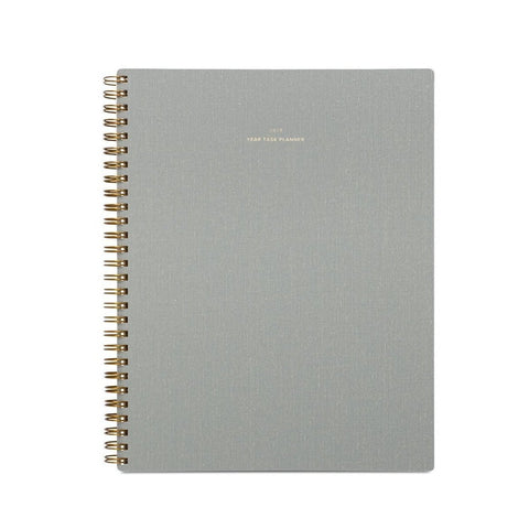 2019 Dove Grey Year Task Planner