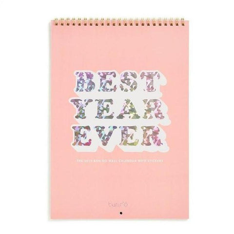 2019 Best Year Ever Calendar