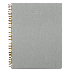 2020 Dove Grey Year Task Planner