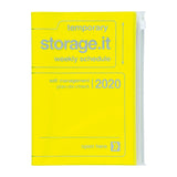 2020 Neon Yellow Storage Planner