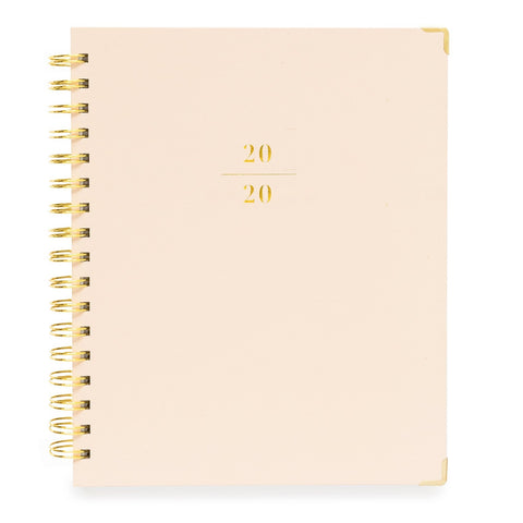 2020 Pale Pink Planner
