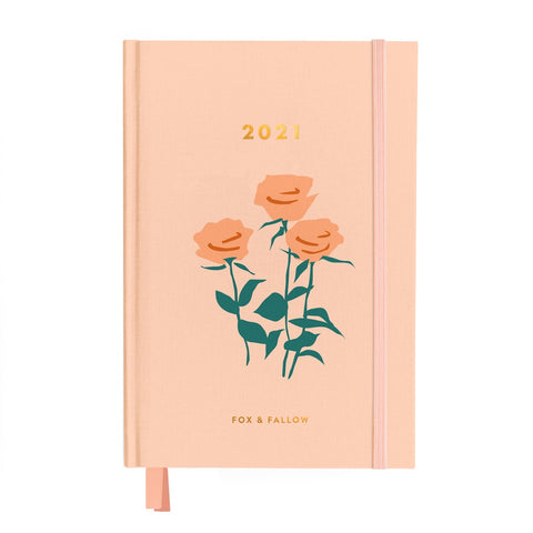 2021 Muse Roses Weekly Planner