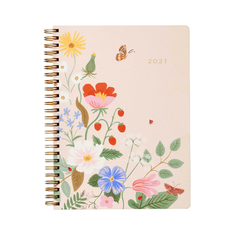 2021 Strawberry Fields Weekly Planner