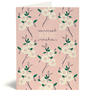 Primrose Wedding Card