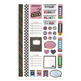 90's Throwback Planner Stickers
