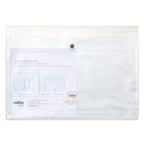 A4 Clear Document Case