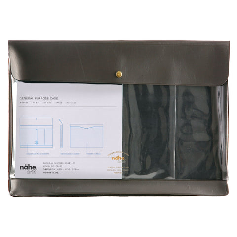 A4 Grey Document Case