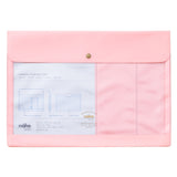 A4 Pink Document Case
