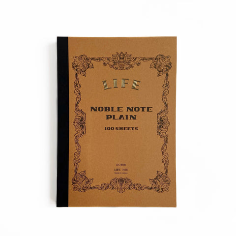 A5 Blank Noble Notebook