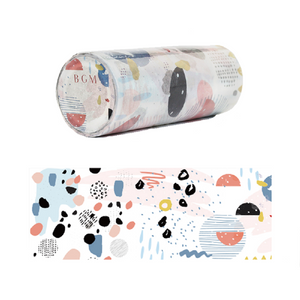 Abstract Wide Paper Tape