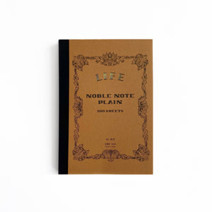 B6 Blank Noble Notebook