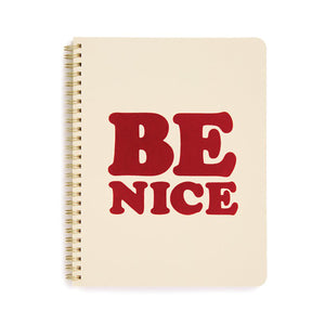 Be Nice Notebook