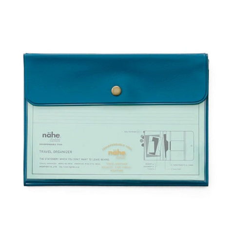 Blue Travel Organizer