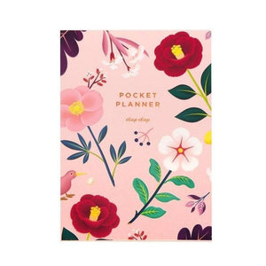 Blush Blossom Pocket Planner
