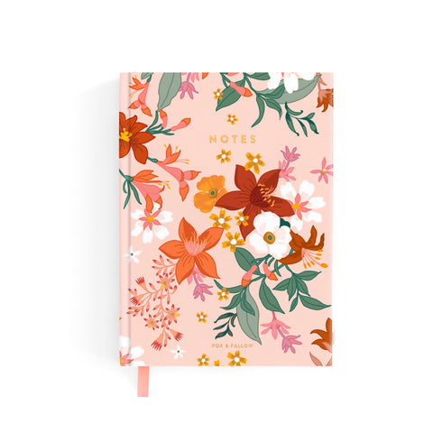 Blush Bohemia Mini Notebook