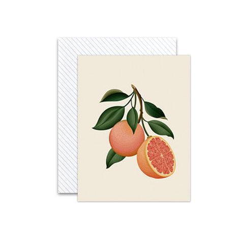 Botanical Grapefruit Scented Card