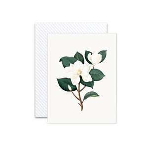 Botanical Magnolia Scented Card