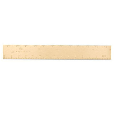 Brass Pocket Ruler