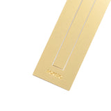 Brass Bookmark Ruler