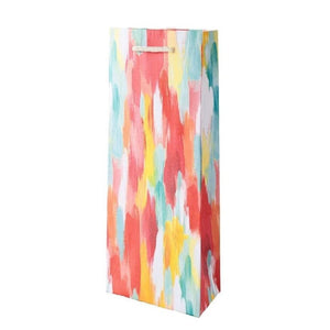 Brushstrokes Wine Bag