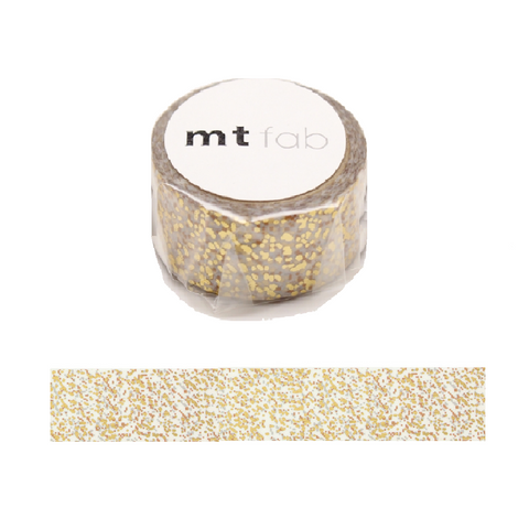 Clear & Gold Glitter Tape