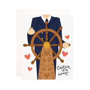 Captain of My Heart Card