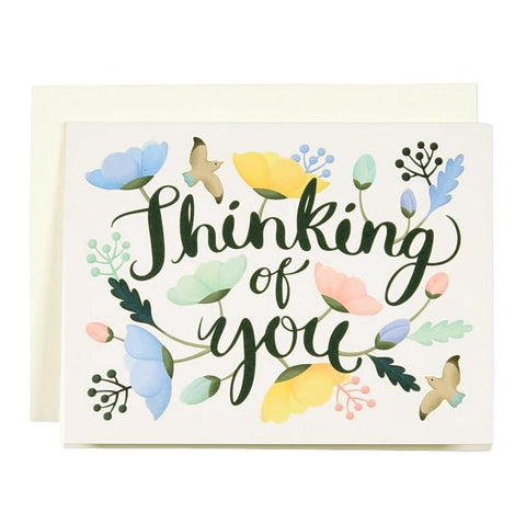 Poppy Thinking of You Card