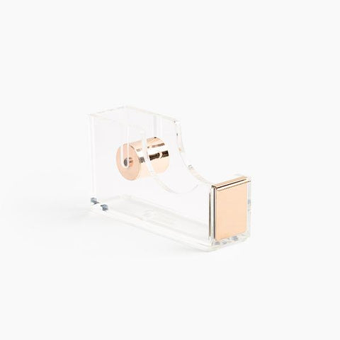 Clear & Gold Tape Dispenser